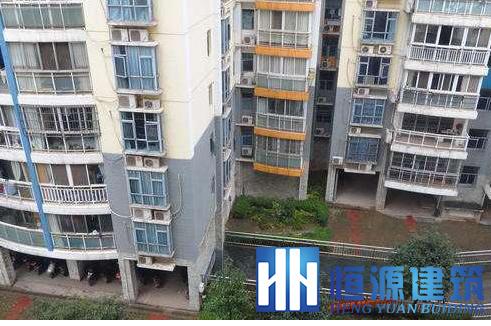 书香名邸8栋1003房外墙防水工程